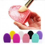 Esponja para Limpeza de Pincéis Maquiagem