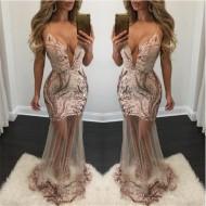 Vestido Longo Luxo Ref 6677