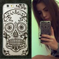 Capa Caveira iPhone 6 e 6 plus Ref 5936
