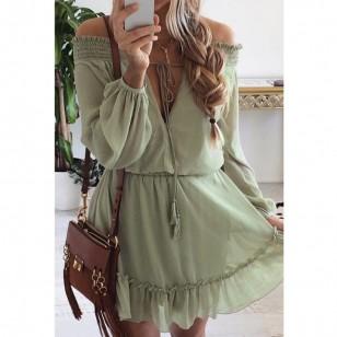 Vestido Fernanda em Chiffon Ref 6792