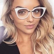 Óculos Blogueira com UV400 Lente Transparente Ref 6954