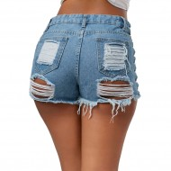 Shorts Jeans Destroyed Cod.284