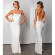 2ab373f17b Oferta Vestido para Reveillon Festa Casamento Branco Ref 7448