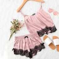 Pijama Baby Doll Conjunto Top e Shorts Ref 7214
