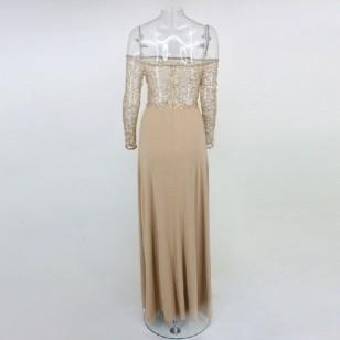 Vestido de Festa Formatura com 2 Fendas Ref 7219