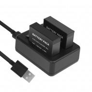 Carregador USB de bateria Gopro Hero 4