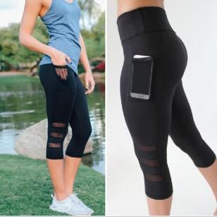 Calça Legging com Bolso para Celular Smartphone Ref 7274