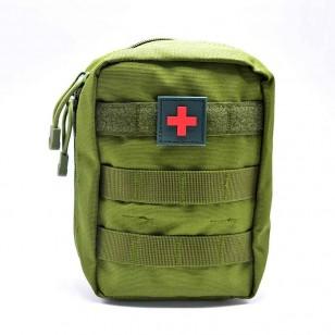 Bolsa Militar Primeiros Socorros Camuflada Ref 7313