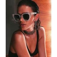 Óculos de Sol com Pedras das Famosas Celebridades Ref 7411