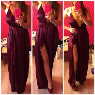 Vestido de Festa Longo Luxo Ref 6725