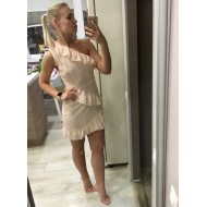 Vestido Moda 2019 Ombro A Ombro Ref 7513