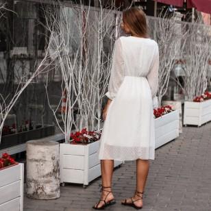Vestido Branco Réveillon Lançamento Ref 7831