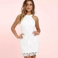 Vestido Branco Réveillon Lançamento Ref 7832