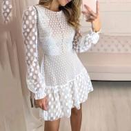 Vestido Branco Réveillon Lançamento Pré Wedding Ref 7833