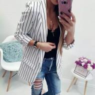 Blazer Feminino Listrado 2019 Ref 7524