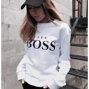 Moletom Boss Feminino Varias Cores Ref 7580