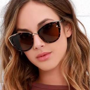 Óculos Olho de Gato Lente Com Proteção UV Ref 7616