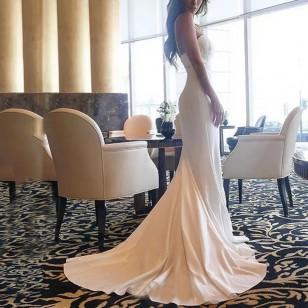 Vestido Pré Wedding Longo Noivas Casamento Ref 7674