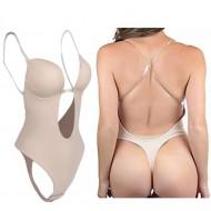 Body Nude Collant Fundo para Roupas Ref 7533