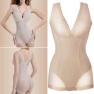 Body Modelador Nude Collant Fundo para Roupas Ref 7684
