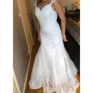 Vestido de Noiva Casamento Sob Medida Ref 7685