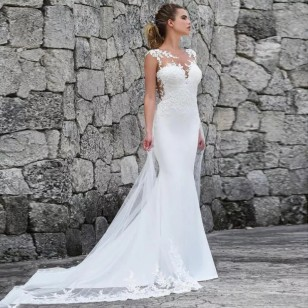 Vestido de Noiva Casamento Sob Medida Ref 7686