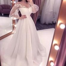 Vestido Pré Wedding Longo Renda Noivas Casamento Ref 7692
