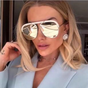 Óculos de Sol Feminino com UV400 em Promoção Ref 7743