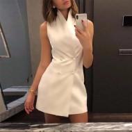 Vestido Elegante Casual Executiva Ref 7775