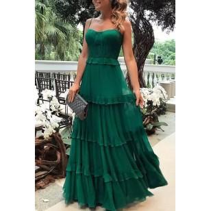 Vestido de Baile Formatura Casamento Convidados Ref 7783