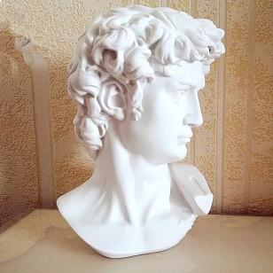 Estatueta De David Michelângelo Arte Decoração Ambiente