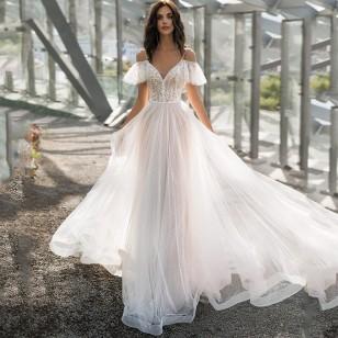 Vestido Pré Wedding Longo Renda Noivas Casamento Ref 7946