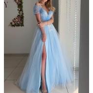 Vestido Azul Serenity Casamento Convidados e Madrinhas Ref 7927