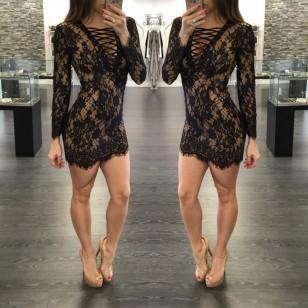 Vestido Renda Ref 5890