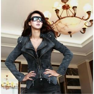 Jaqueta Thais Vintage Jeans Ref 5209