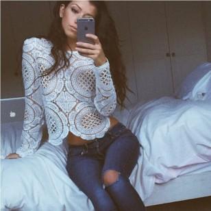Blusa Croche Ref 5222
