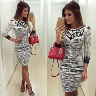 Vestido Ariane Fashion Ref 5541